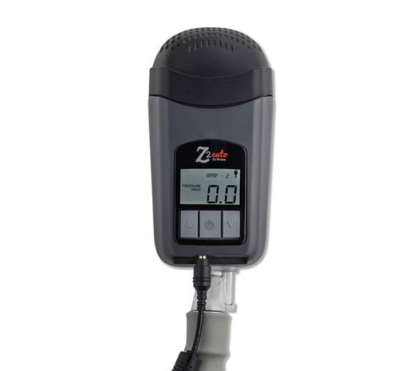 Z2 Auto Travel CPAP Front View