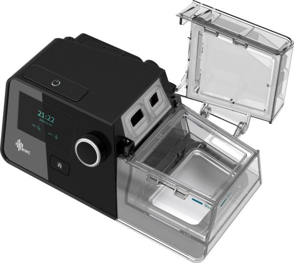BMC Luna G3 Auto CPAP Machine With Humdifier Lid Open