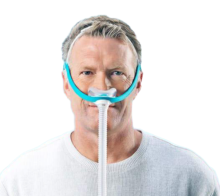 Evora CPAP Mask from Fisher Paykel is used to treat snoring and sleep apnea
